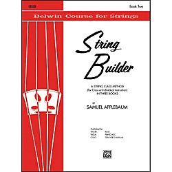 Alfred String Builder Cello Book II (00-EL01552)