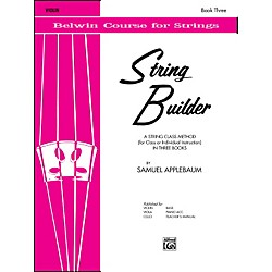 Alfred String Builder Violin Book III (00-EL01556)