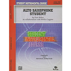 Alfred Student Instrumental Course Alto Saxophone Student Level II (00-BIC00231A)