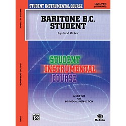 Alfred Student Instrumental Course Baritone (B.C.) Student Level II (00-BIC00261A)