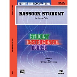 Alfred Student Instrumental Course Bassoon Student Level 2 Book (00-BIC00226A)
