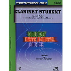 Alfred Student Instrumental Course Clarinet Student Level I (00-BIC00106A)