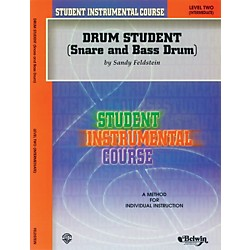 Alfred Student Instrumental Course Drum Student Level II (00-BIC00271A)