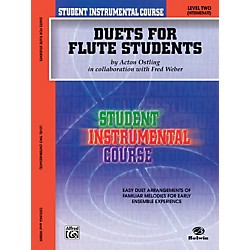 Alfred Student Instrumental Course Duets for Flute Students Level 2 Book (00-BIC00205A)