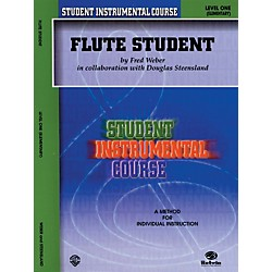 Alfred Student Instrumental Course Flute Student Level I (00-BIC00101A)