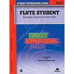 Alfred Student Instrumental Course Flute Student Level II (00-BIC00201A)
