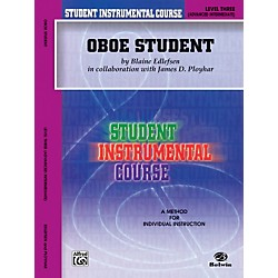 Alfred Student Instrumental Course Oboe Student Level 3 Book (00-BIC00321A)