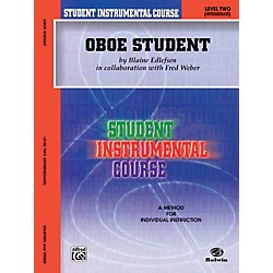 Alfred Student Instrumental Course Oboe Student Level II (00-BIC00221A)