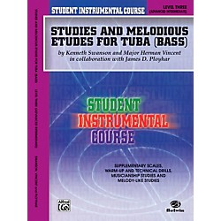 Alfred Student Instrumental Course Studies and Melodious Etudes for Tuba Level III (00-BIC00367A)