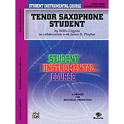 Alfred Student Instrumental Course Tenor Saxophone Student Level 3 Book (00-BIC00336A)