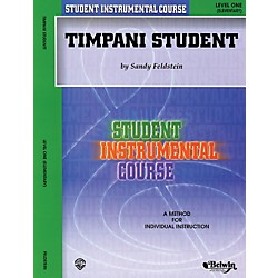 Alfred Student Instrumental Course Timpani Student Level 1 Book (00-BIC00176A)