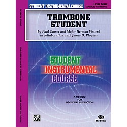 Alfred Student Instrumental Course Trombone Student Level 3 Book (00-BIC00356A)