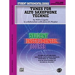 Alfred Student Instrumental Course Tunes for Alto Saxophone Technic Level III Book (00-BIC00333A)