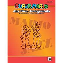 Alfred Super Mario Jazz Piano Arrangements Book (00-38603)