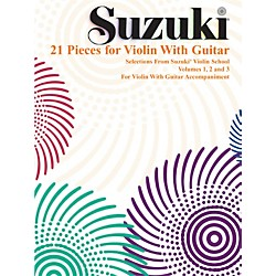 Alfred Suzuki 21 Pieces for Violin with Guitar (Book) (00-0295S)
