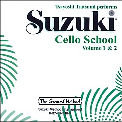 Alfred Suzuki Cello School CD, Volume 1 & 2 (00-0940)
