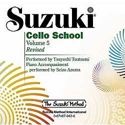 Alfred Suzuki Cello School CD, Volume 5 (00-0942)