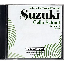 Alfred Suzuki Cello School CD, Volume 6 (00-0943)