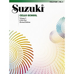 Alfred Suzuki Cello School Cello Part Volume 5 (Book) (00-0267S)
