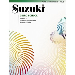 Alfred Suzuki Cello School Piano Accompaniment Volume 8 (Book) (00-0363S)