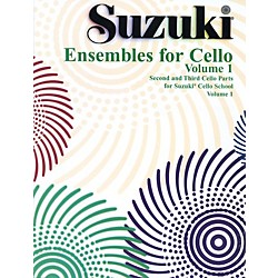 Alfred Suzuki Ensembles for Cello Volume 1 (Book) (00-0296S)