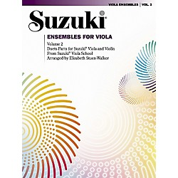 Alfred Suzuki Ensembles for Viola Volume 2 (00-0412S)