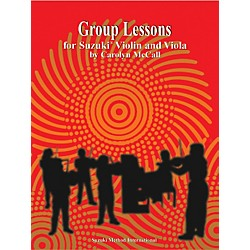 Alfred Suzuki Group Lessons for Violin and Viola Book (00-0435)