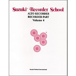 Alfred Suzuki Recorder School (Alto Recorder) Recorder Part Volume 4 (00-0560)