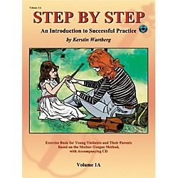 Alfred Suzuki Step by Step 1A: An Introduction to Successful Practice for Violin Book/CD (00-20220X)