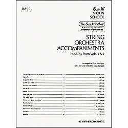 Alfred Suzuki String Orchestra Accompaniments, Bass (Book) (00-0323)