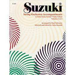 Alfred Suzuki String Orchestra Accompaniments to Solos from Volumes 1 & 2 Score Book (00-0318)