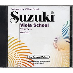 Alfred Suzuki Viola School, Volume 6 (CD) (00-0546)