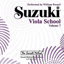 Alfred Suzuki Viola School, Volume 7 (CD) (00-0548)