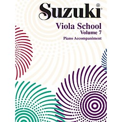 Alfred Suzuki Viola School Piano Accompaniment Volume 7 Book (00-0494)