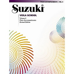 Alfred Suzuki Viola School Piano Accompaniments (00-0492S)