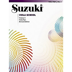 Alfred Suzuki Viola School Viola Part, Volume 6 Book (00-0491S)