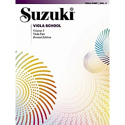 Alfred Suzuki Viola School Volume 3 (Book) (00-0243S)