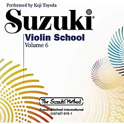 Alfred Suzuki Violin School CD, Volume 6 (00-0919)