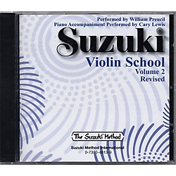 Alfred Suzuki Violin School CD Volume 2 (00-28262)
