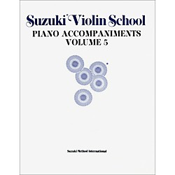 Alfred Suzuki Violin School Piano Accompaniment Volume 5 (Book) (00-0153)
