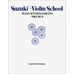 Alfred Suzuki Violin School Piano Accompaniments Volume B (Book) (00-0228)