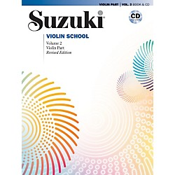 Alfred Suzuki Violin School Violin Part & CD Volume 2 (00-28263)
