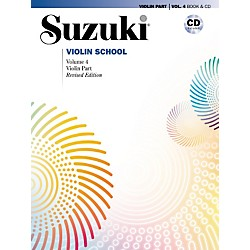 Alfred Suzuki Violin School Violin Part & CD Volume 4 (00-30725)