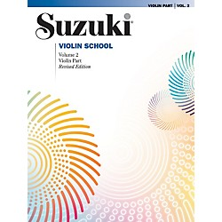 Alfred Suzuki Violin School Violin Part Volume 2 (00-0146S)