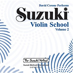 Alfred Suzuki Violin School Volume 2 (CD) (00-0597)
