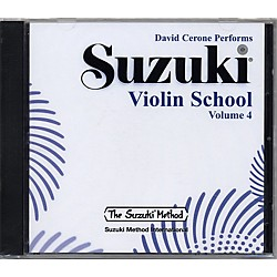 Alfred Suzuki Violin School Volume 4 (CD) (00-0599)