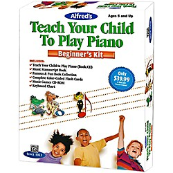 Alfred Teach Your Child To Play Piano Beginner's Kit (00-42342)