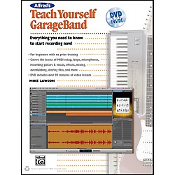 Alfred Teach Yourself GarageBand Book and DVD (00-34367)