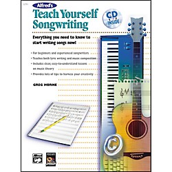 Alfred Teach Yourself Songwriting (Book/CD) (00-22857)