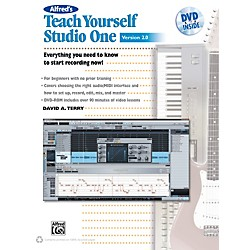 Alfred Teach Yourself Studio One Version 2.0 Book & DVD (00-38853)